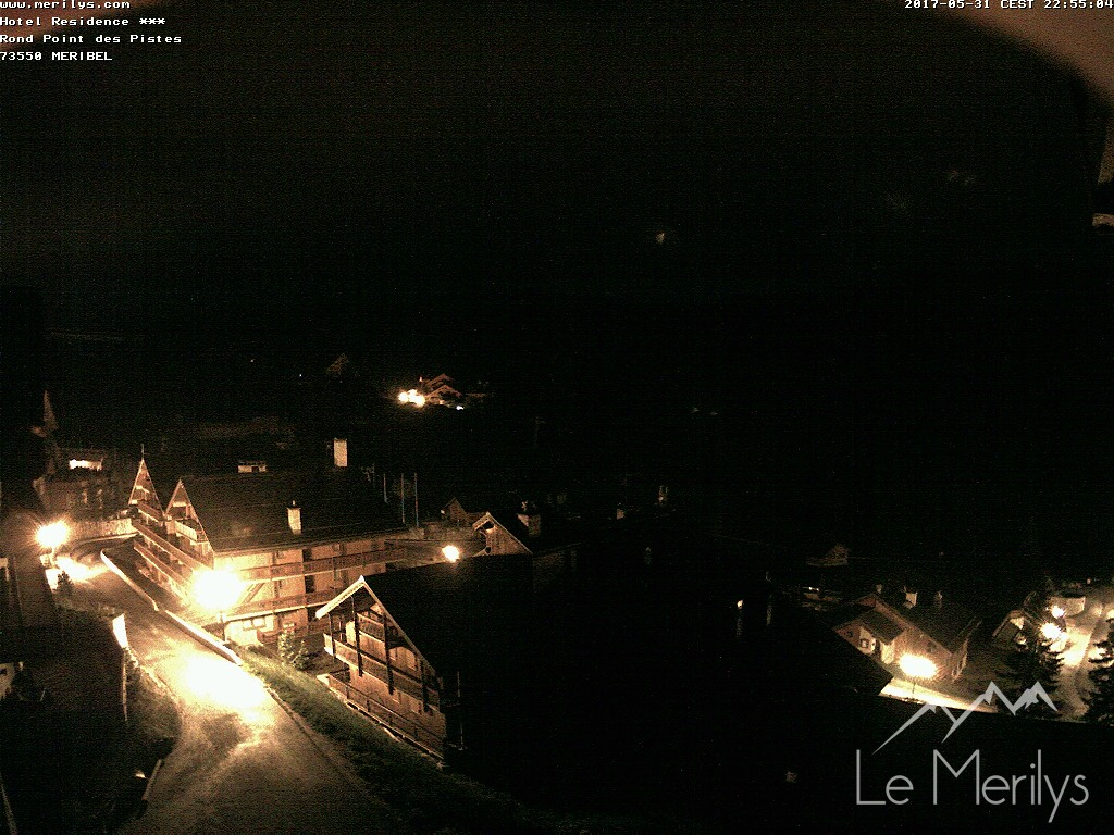 Meribel Snowcam image